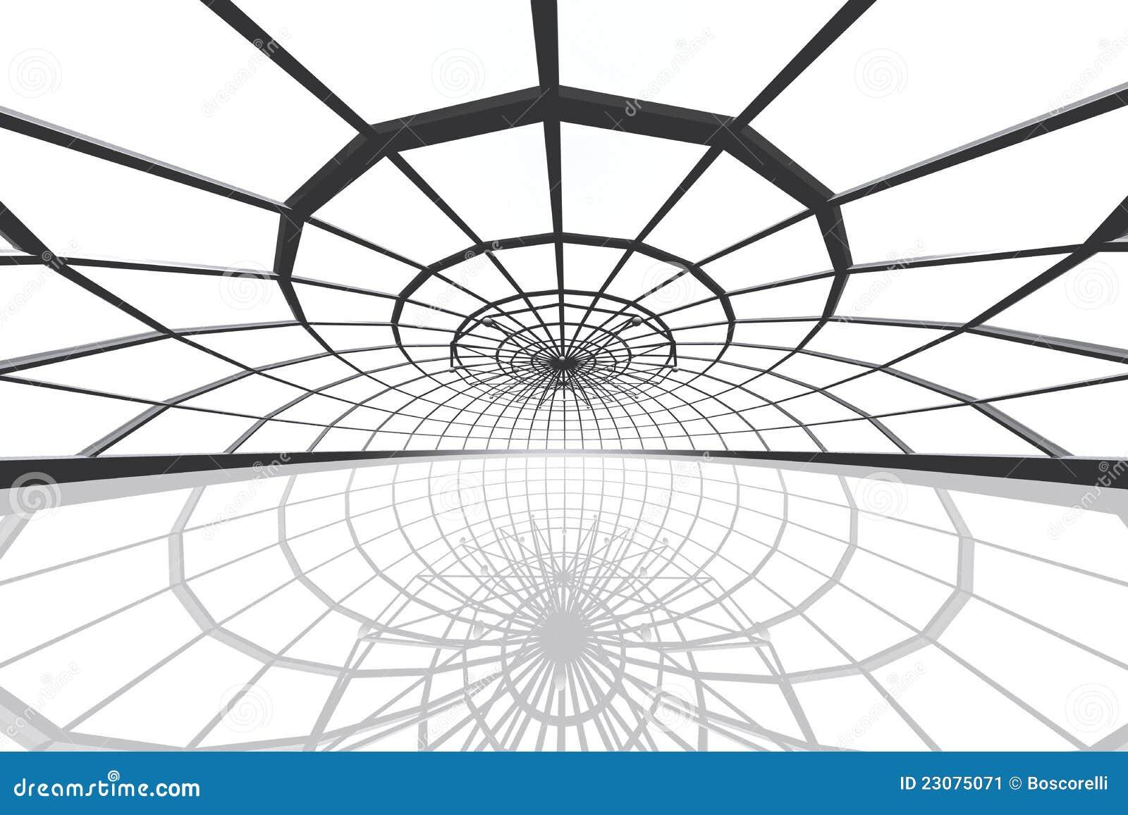 L arena pattinante enorme 3D rende