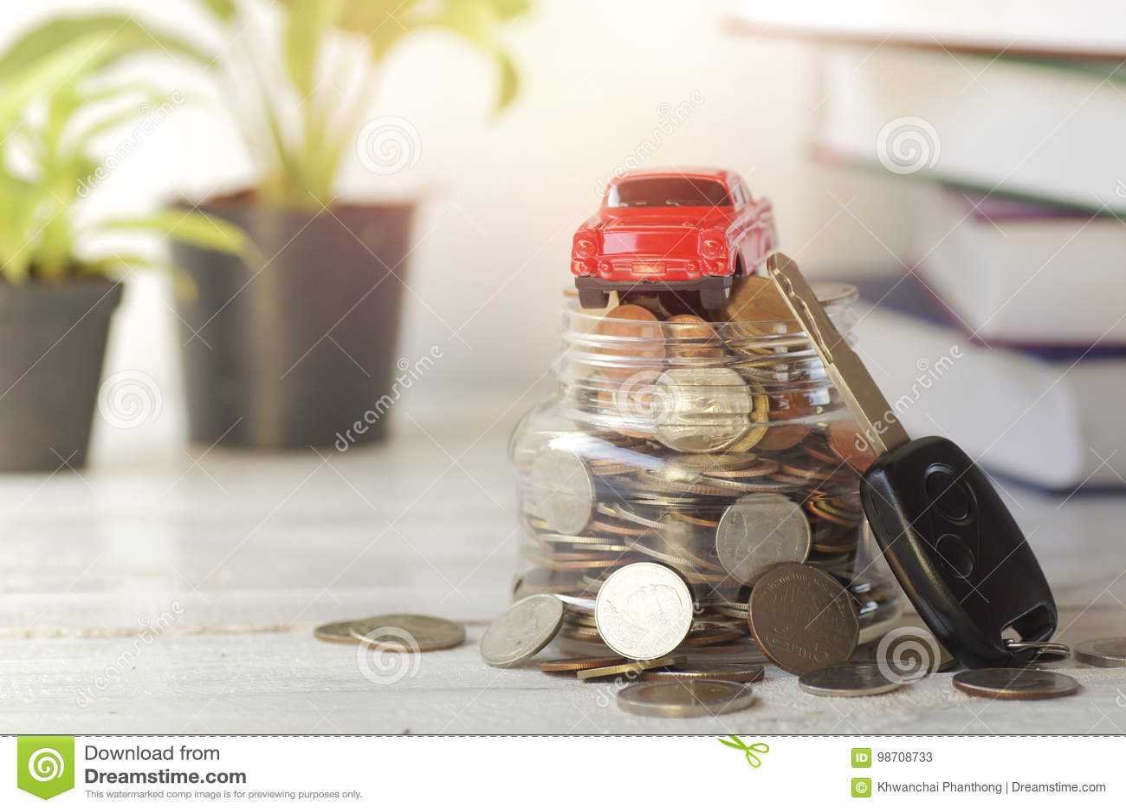 Clé Et Invente L'argent Dans Jouet La BouteilleVoiture De VSUpLqzMG
