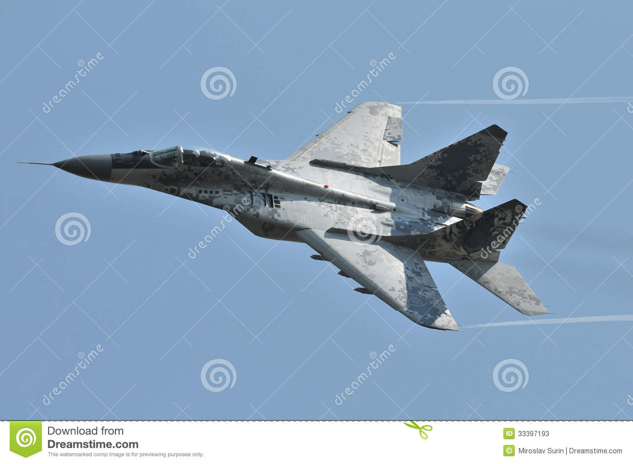 L Armée de l Air slovaque de MiG-29AS