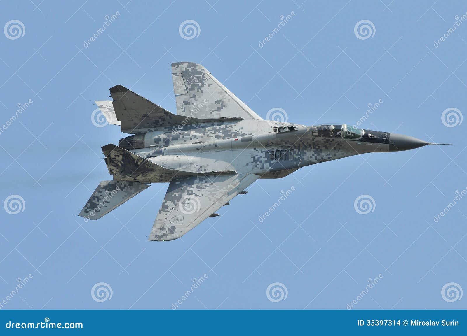 L Armée de l Air slovaque de MiG-29AS
