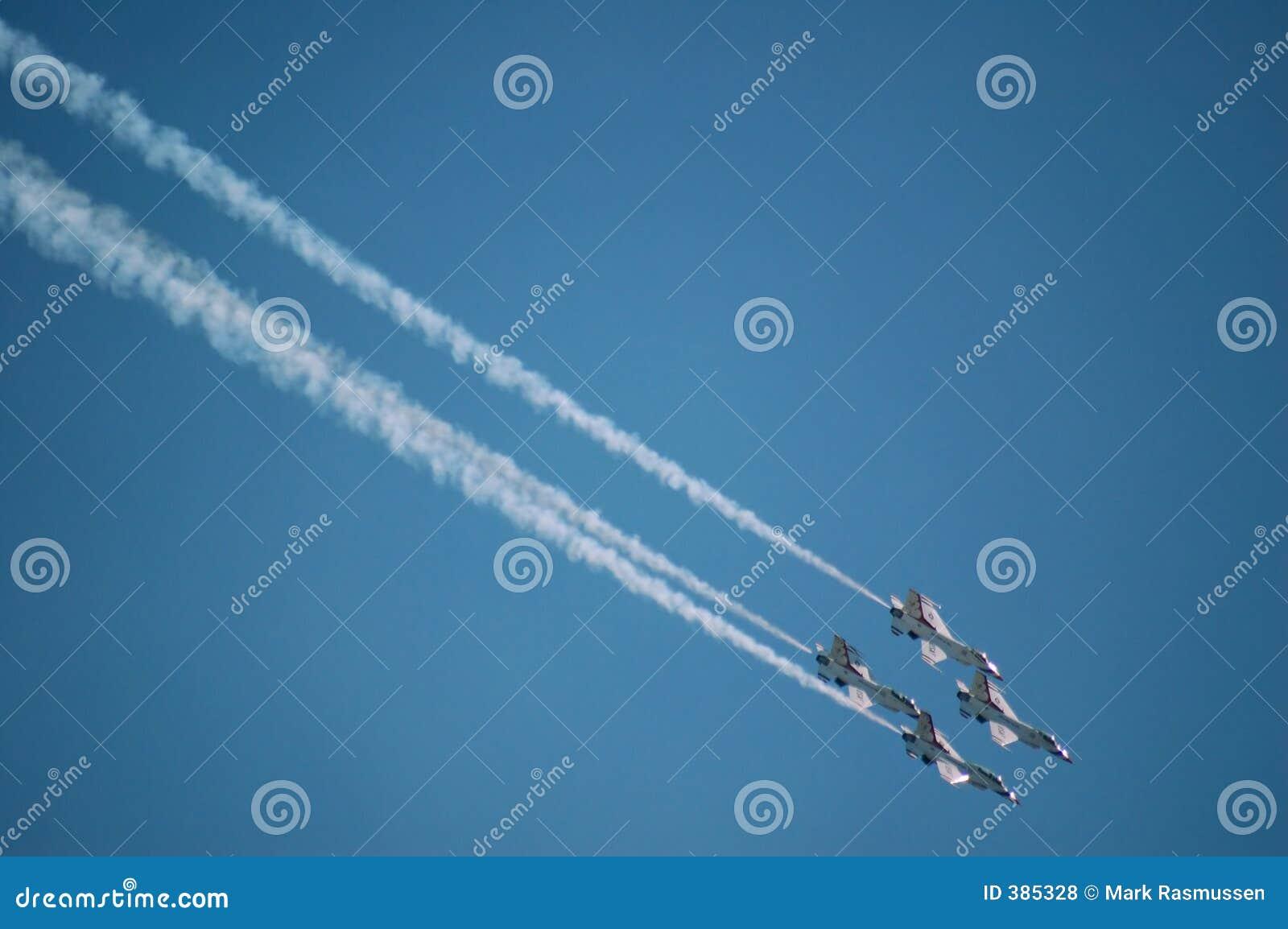 L Armée de l Air Thunderbirds