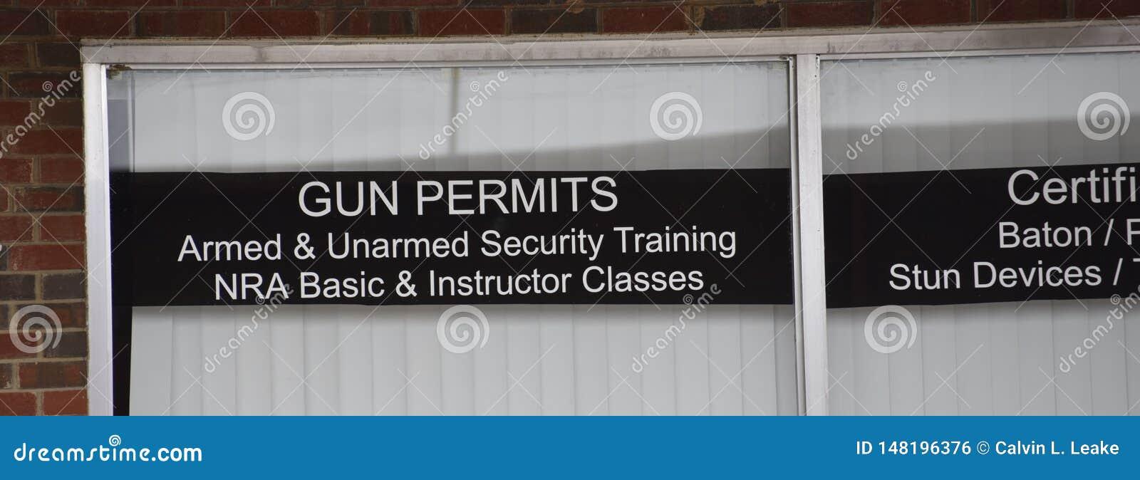 L arme à feu permet la formation armée et sans armes de sécurité