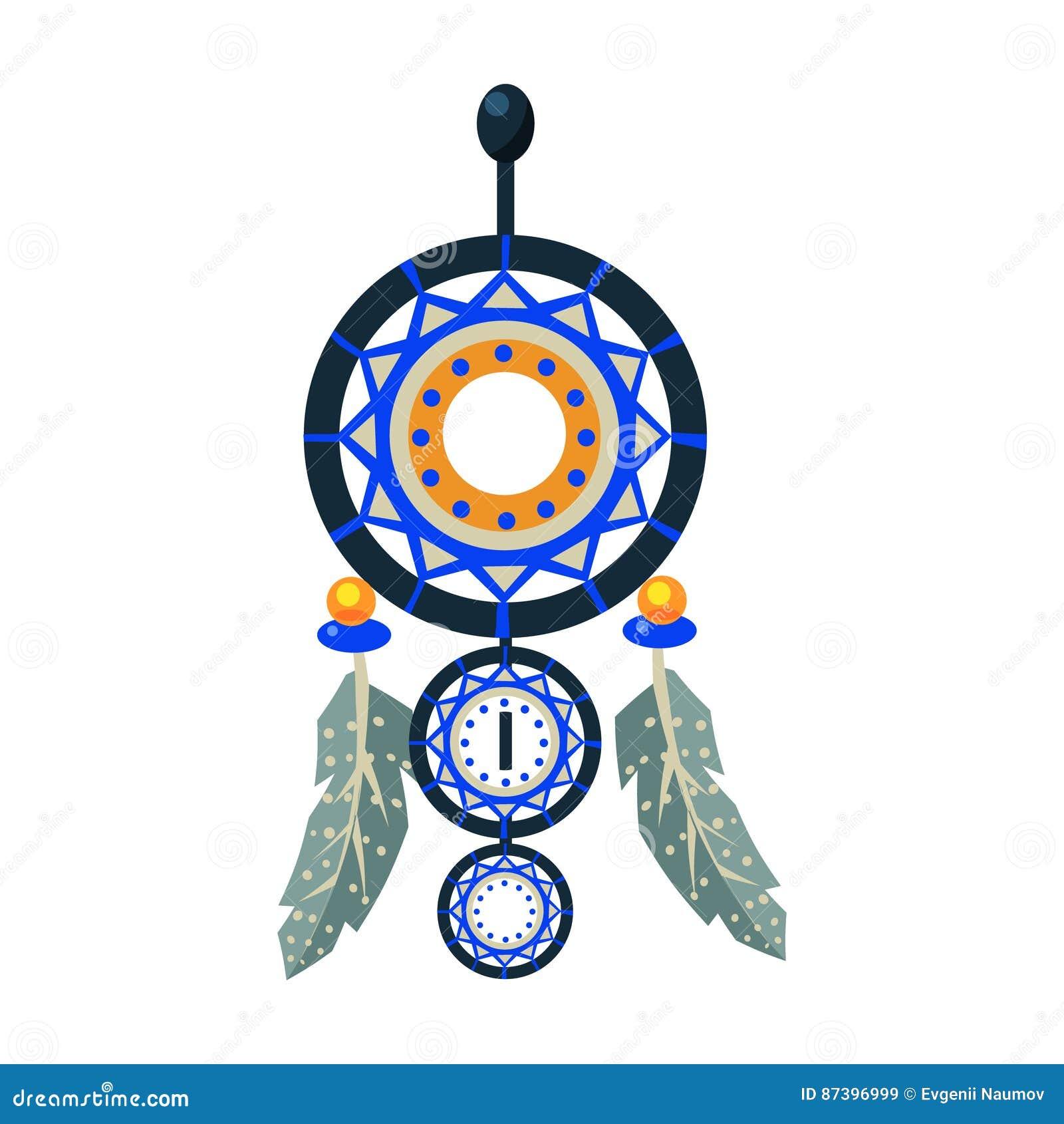 Très Le Charme Décoré De Dreamcatcher, Symbole Indien Indigène De  AL16