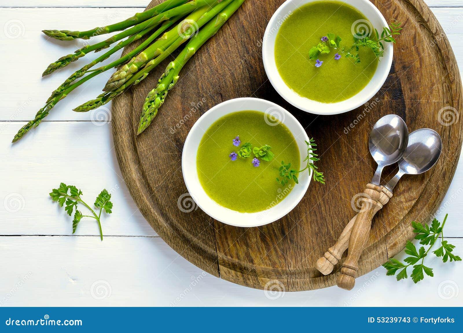 L asperge soup