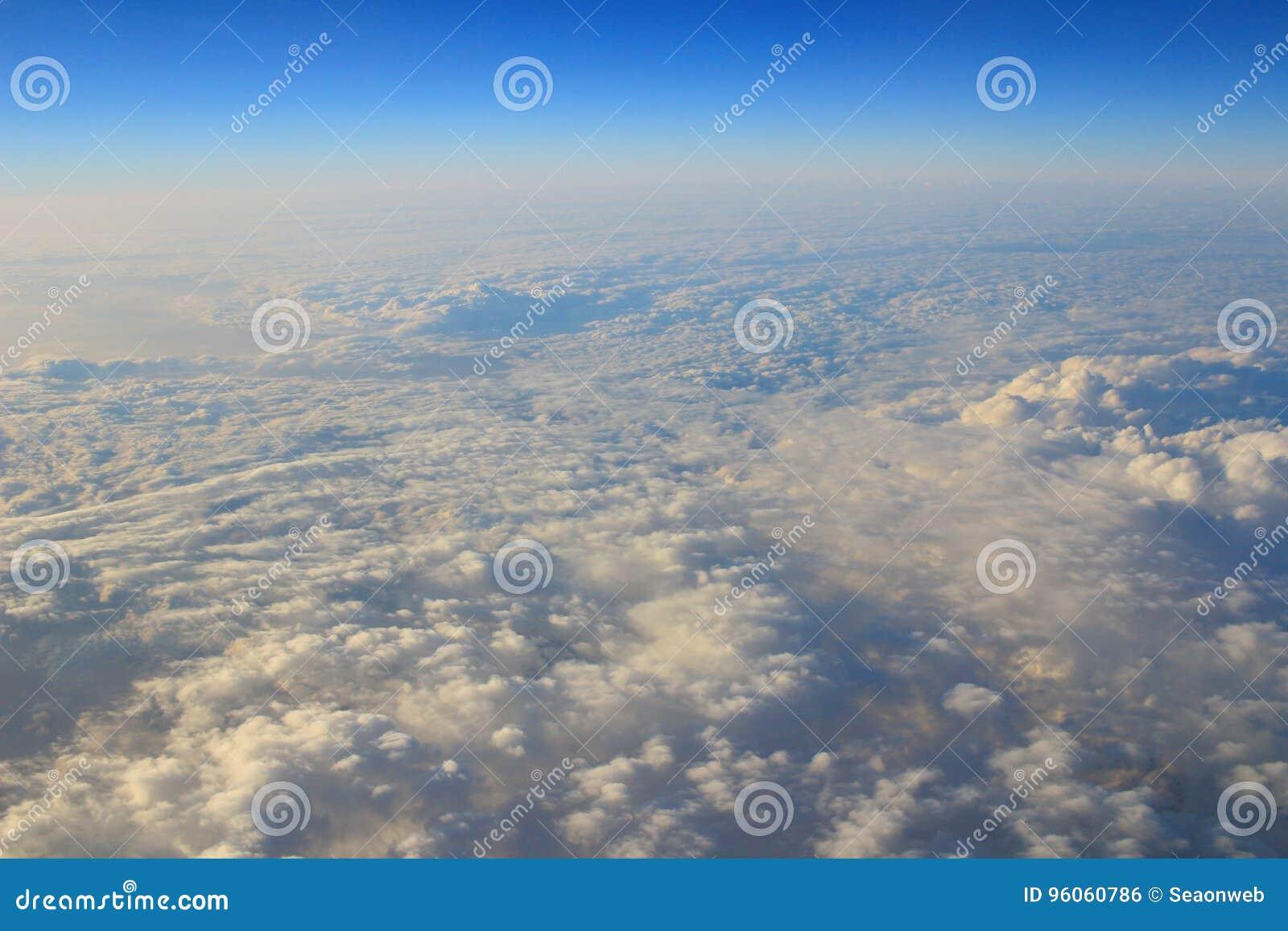 L atmosphère - fond de ciel et de nuages
