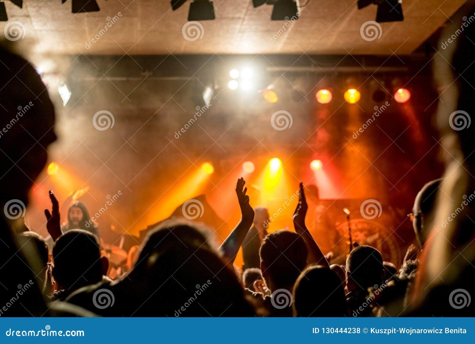 L atmosphère magique au concert