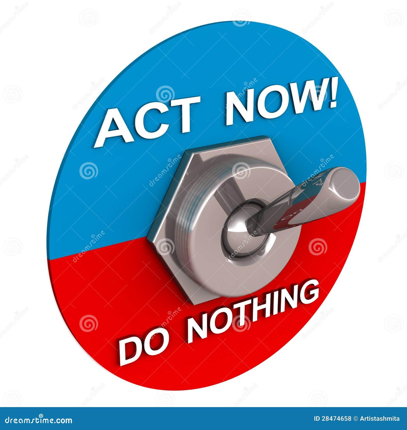 L atto ora contro non fa niente