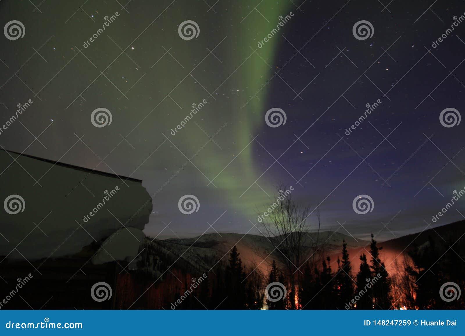 L aurore en Alaska