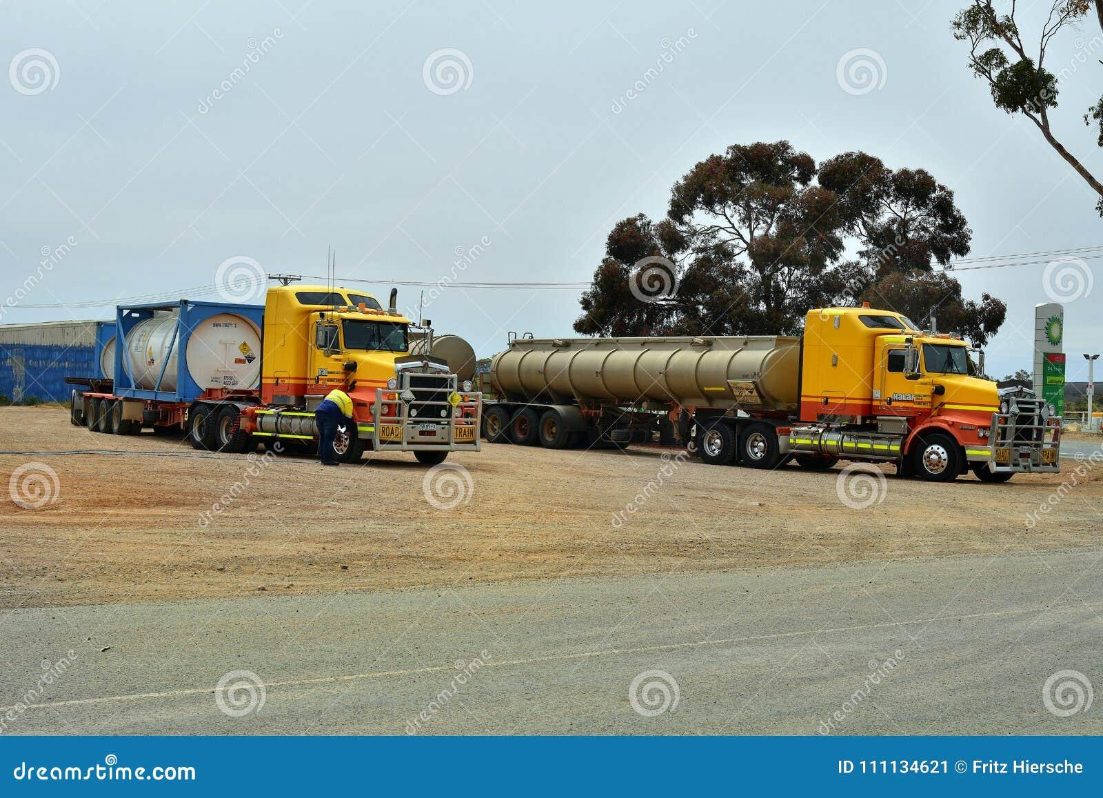 L Australia, Australia Meridionale, camion