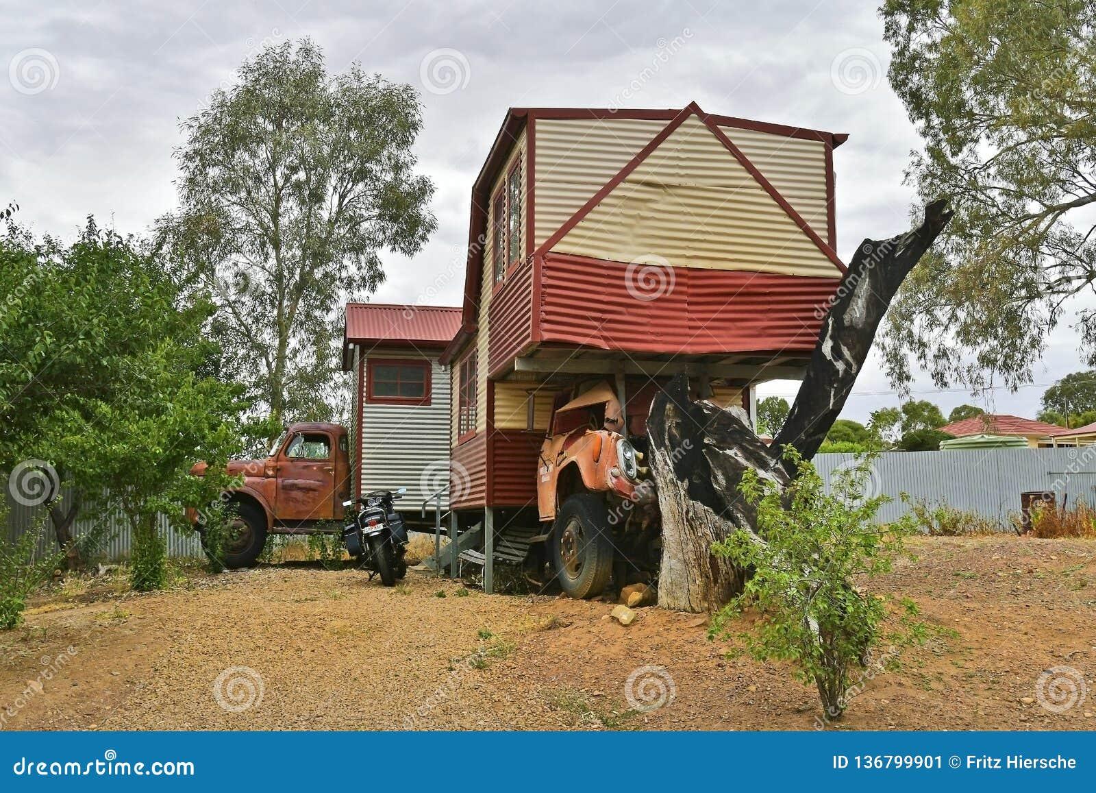 L Australia, Australia Meridionale, villaggio Melrose