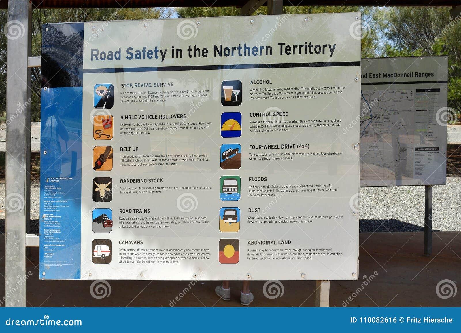 L Australia, Territorio del Nord, informazioni