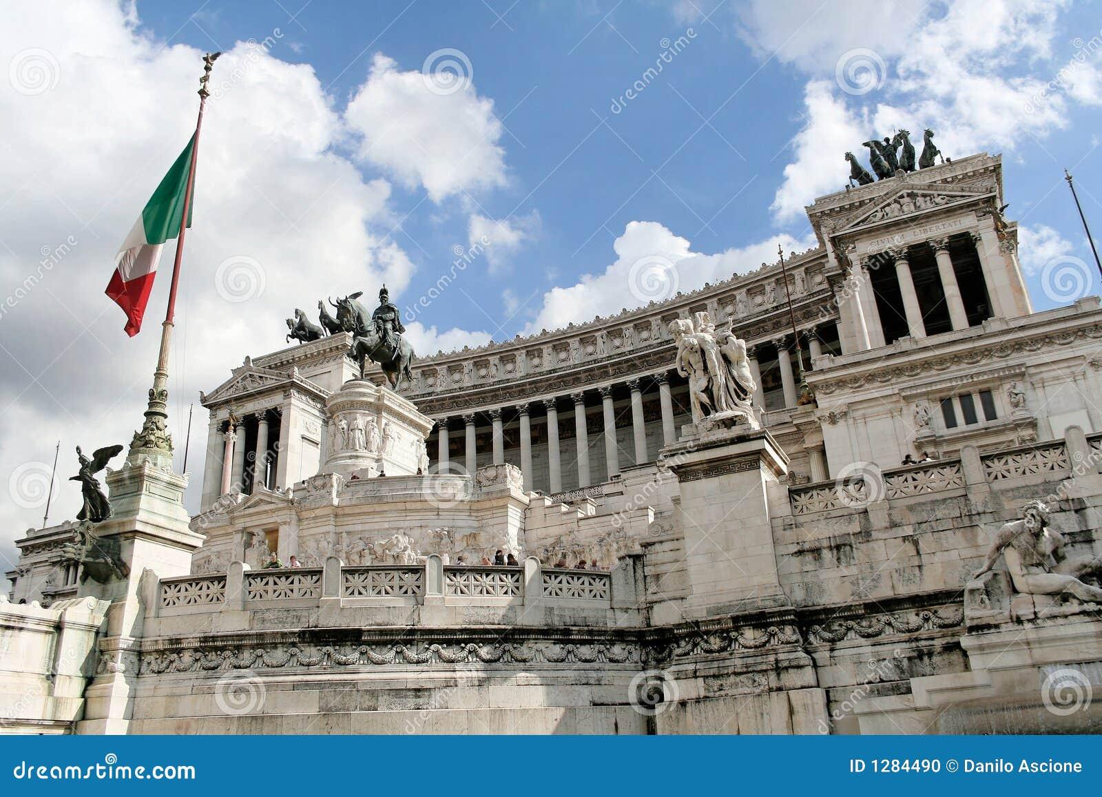 L autel de la patrie à Rome