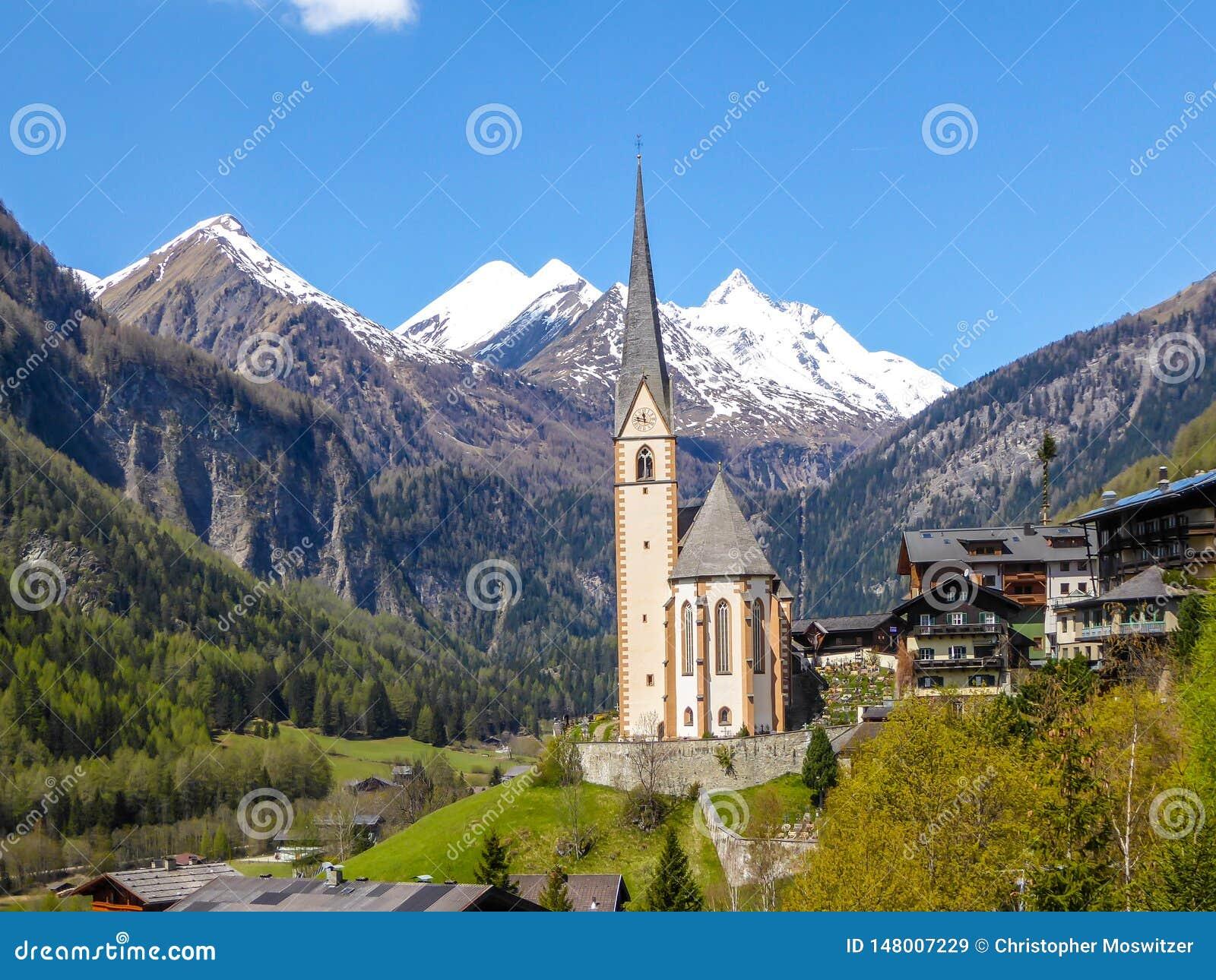 L Autriche - belle église alpine