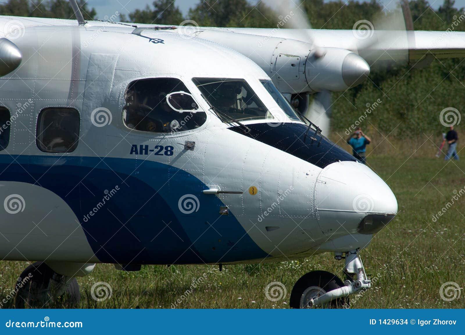 L avion du Skydiver