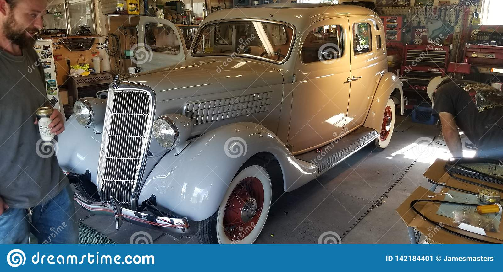 L 1935 cupê de Ford