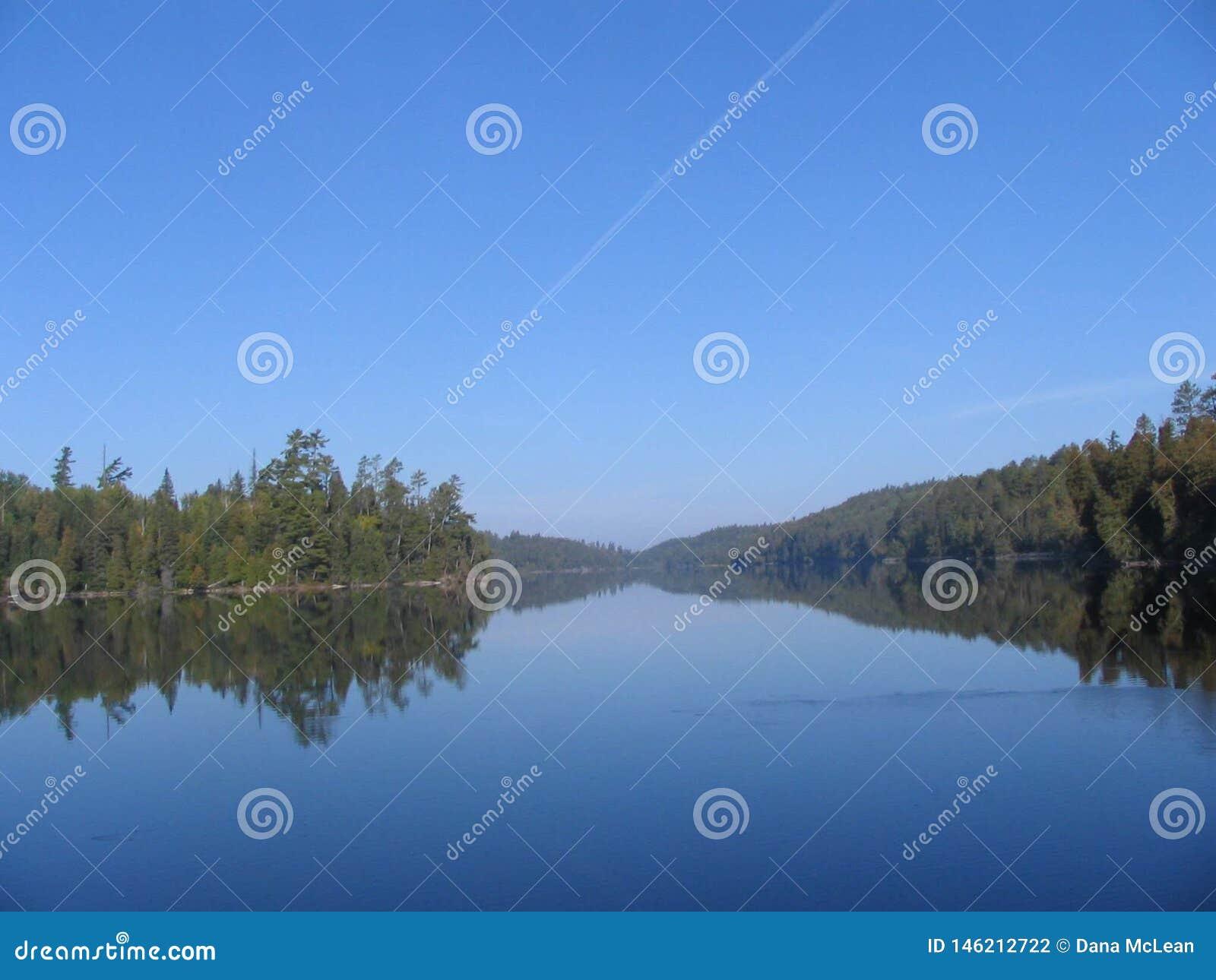 L eau calme