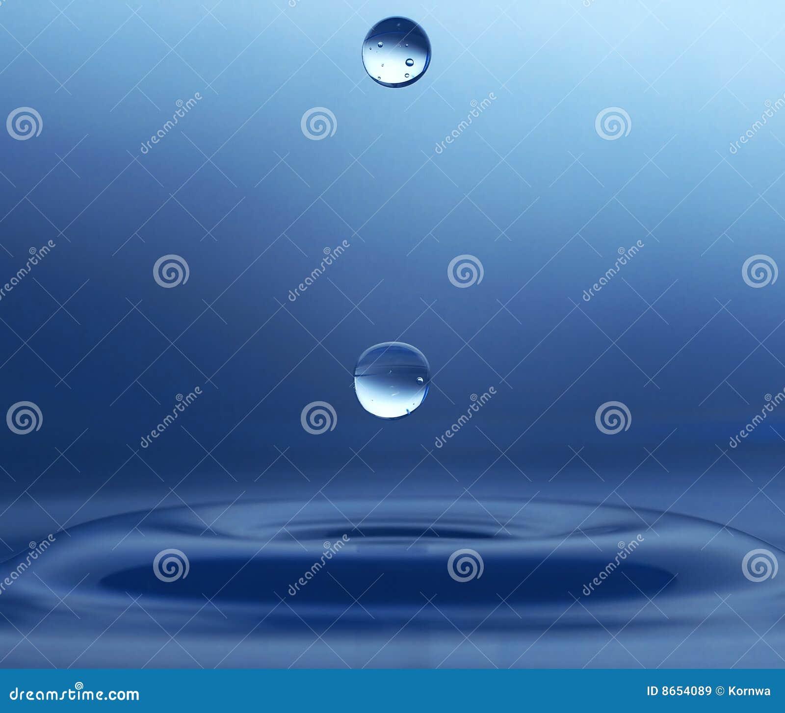 L eau de baisse
