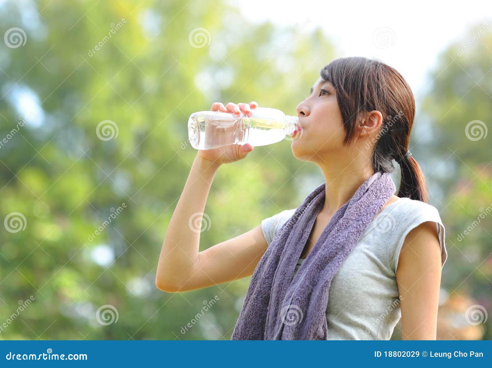 L eau de boissons après sport
