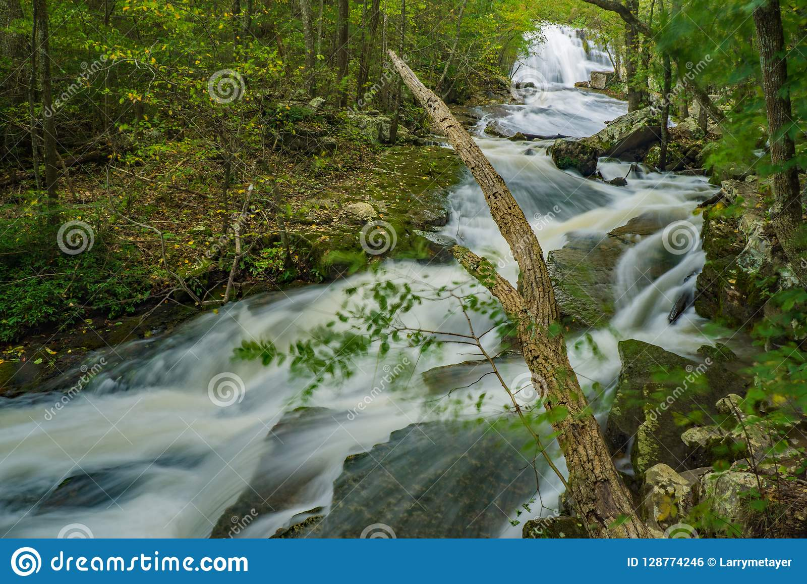 L eau de taille à hurler la cascade courue