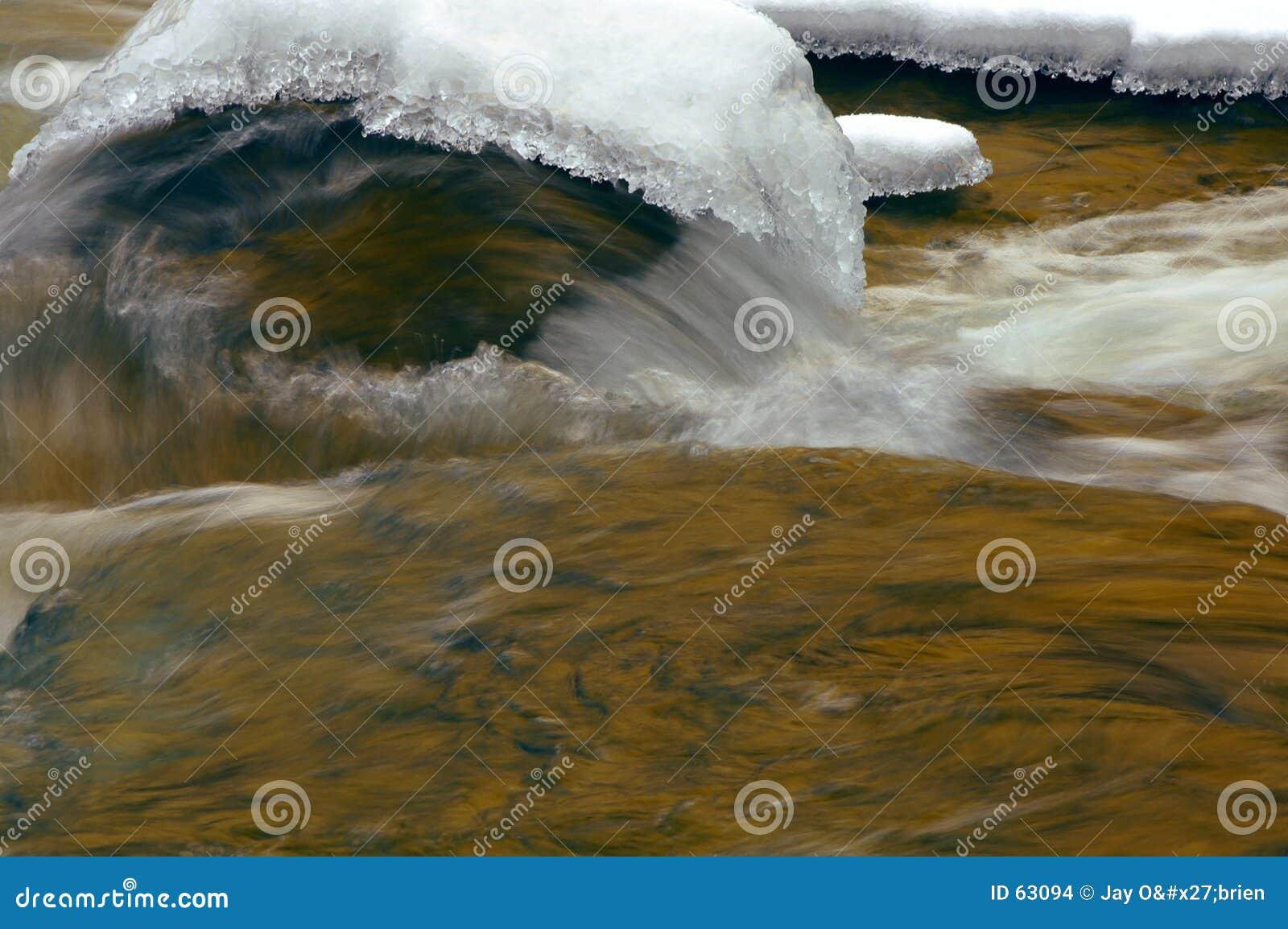 Download L'eau Et Glace Se Précipitantes Photo stock - Image du saisonnier, roches: 63094