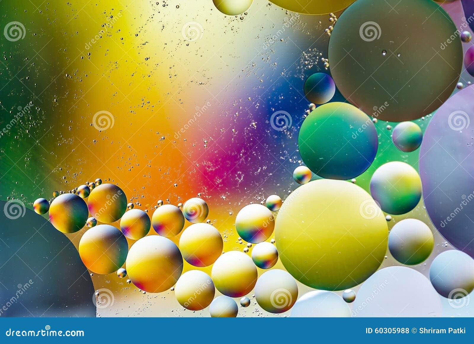 L eau et pétrole