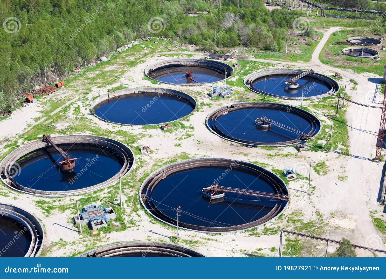L eau réutilisant la gare d eaux d égout