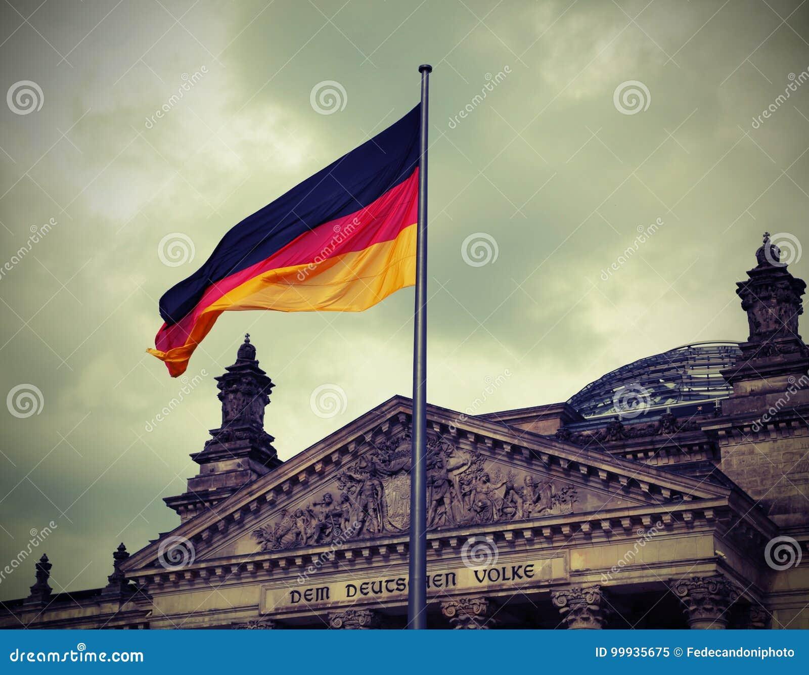 L 39 edificio di reichstag il parlamento della germania a - Bandiera della pagina di colorazione della germania ...