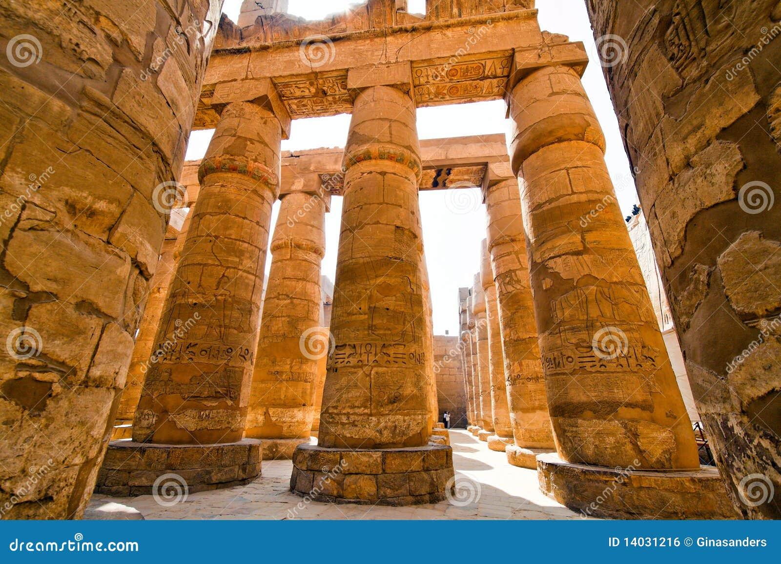 L Egypte, Luxor, temple de Karnak