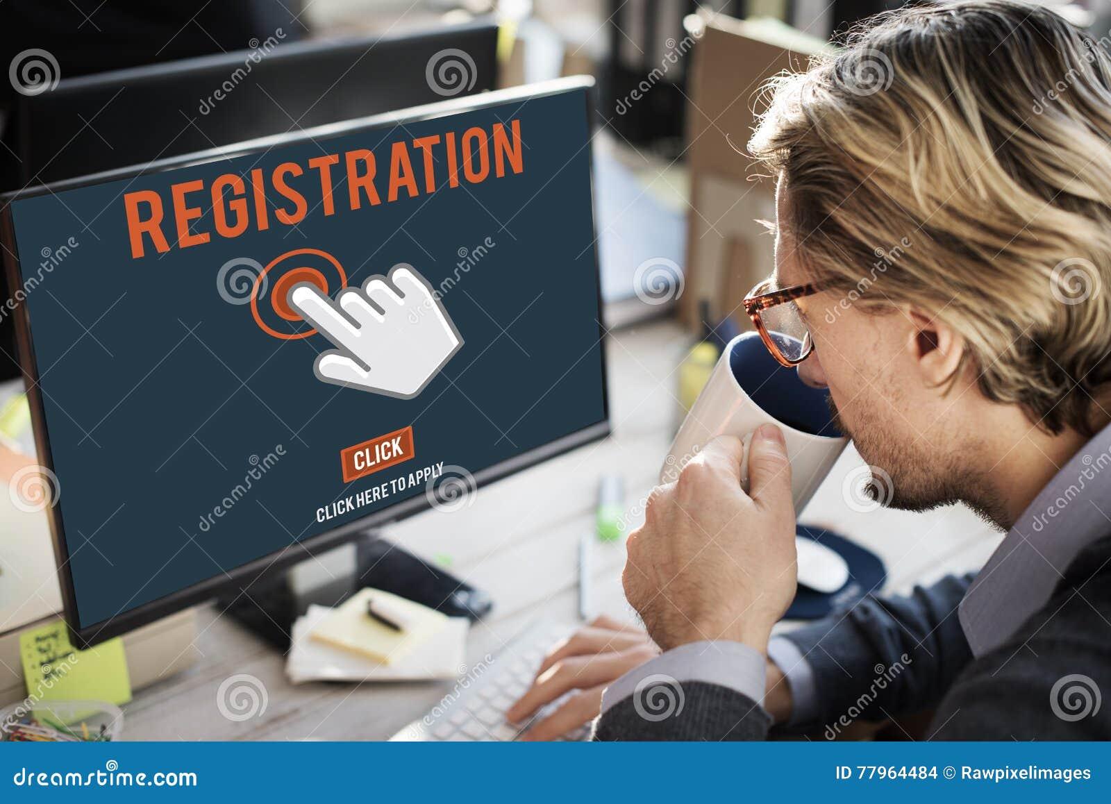 L enregistrement de s inscrire entrent appliquent le concept d adhésion