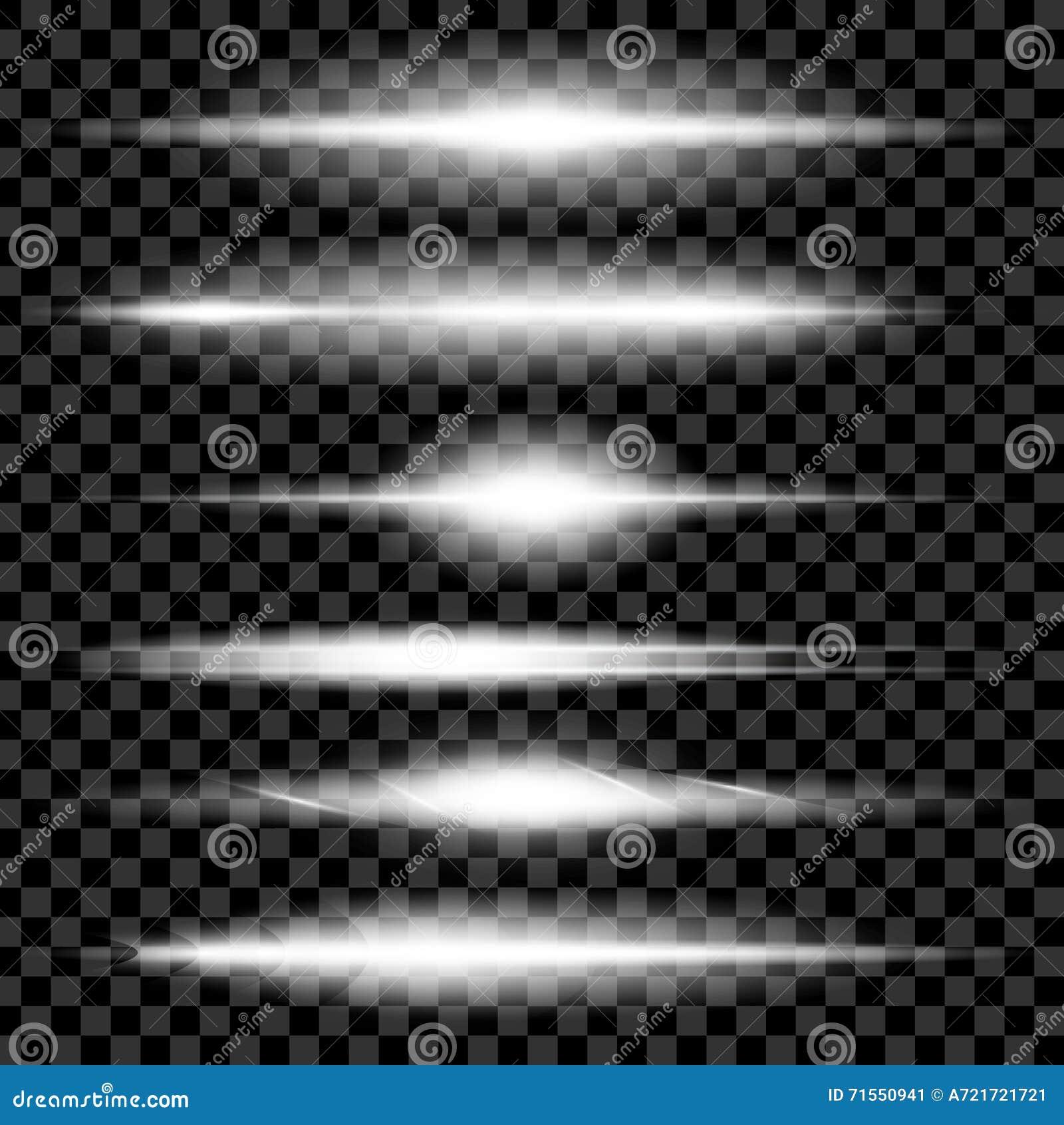 L ensemble créatif de vecteur de concept d étoiles d effet de la lumière de lueur éclate avec des étincelles sur le fond noir pou
