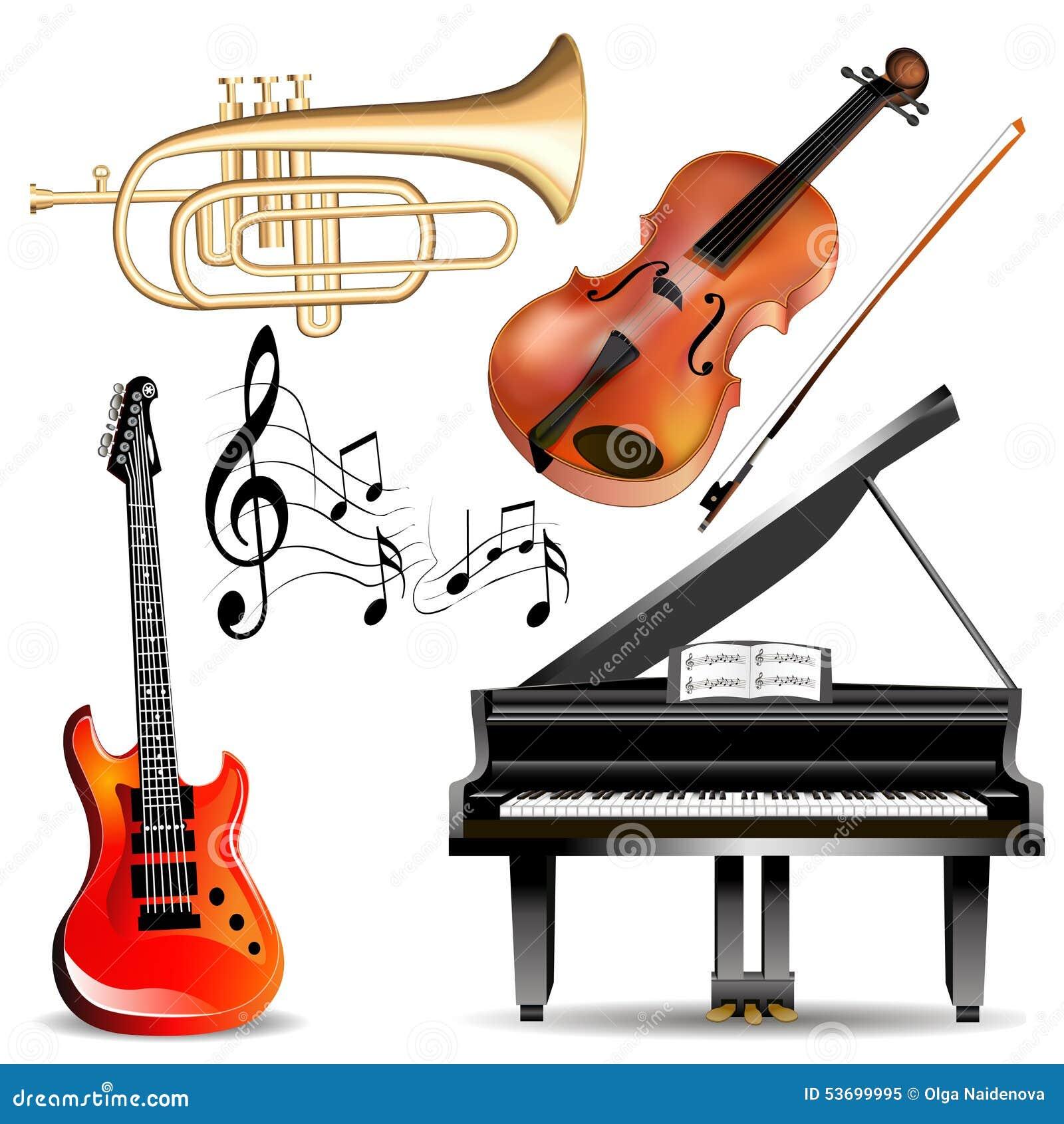 L Ensemble D Instruments De Musique Sonnent De La