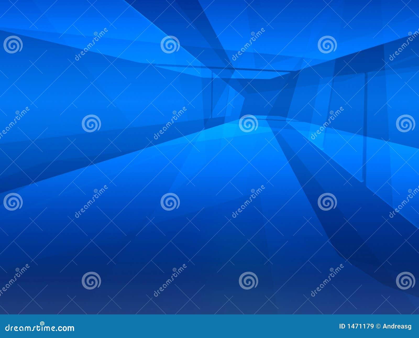 L espace bleu de voie