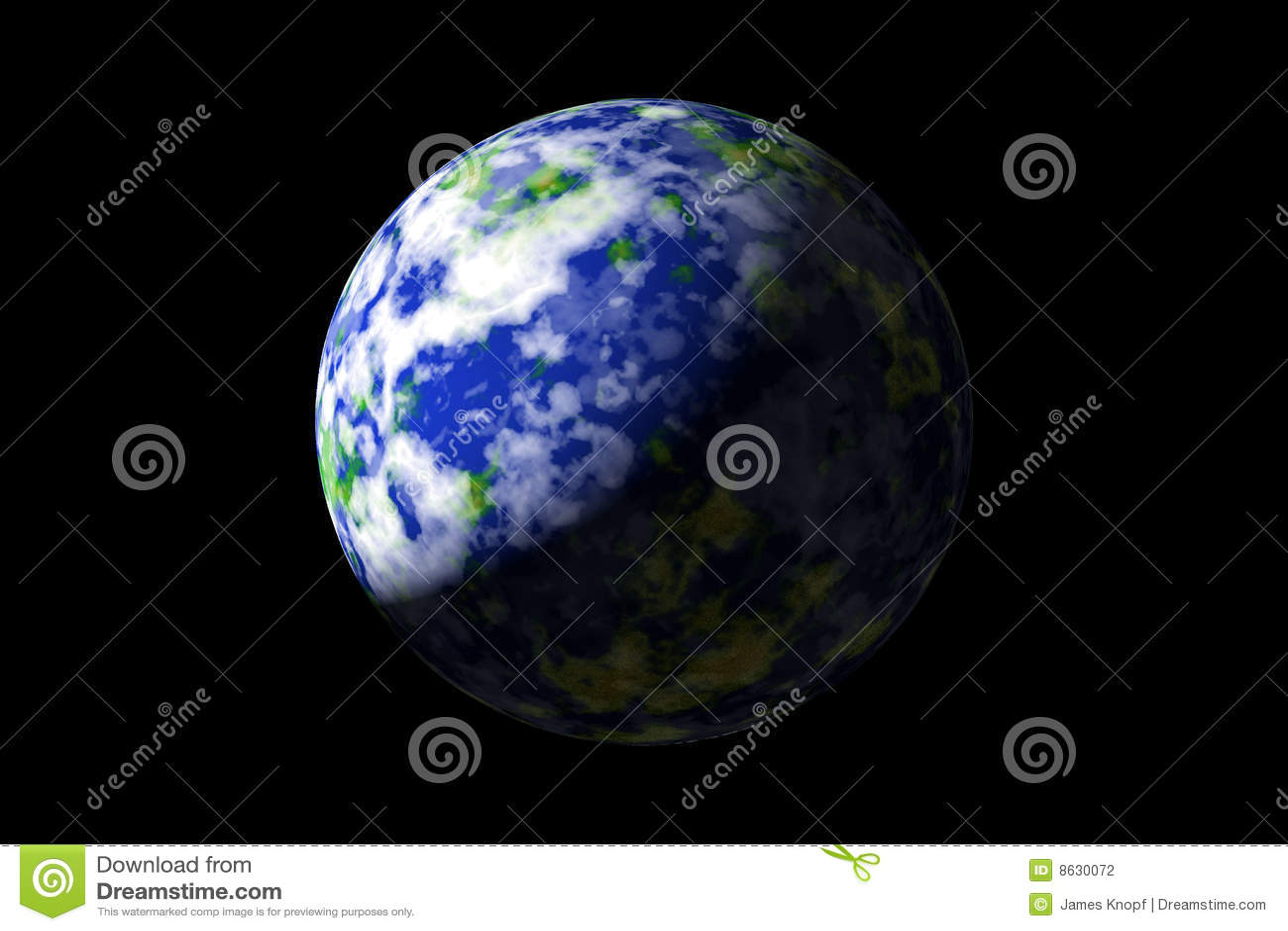 L espace de la terre