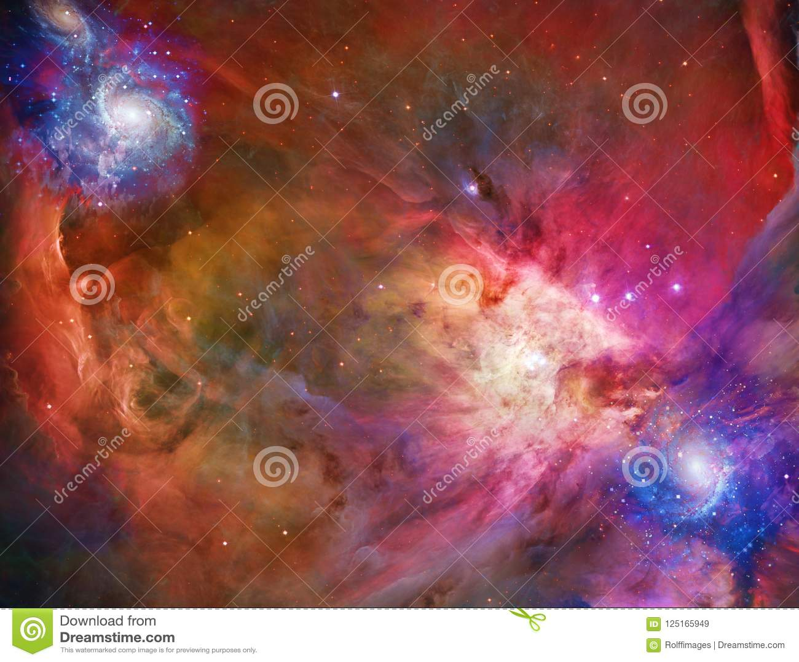L espace galactique