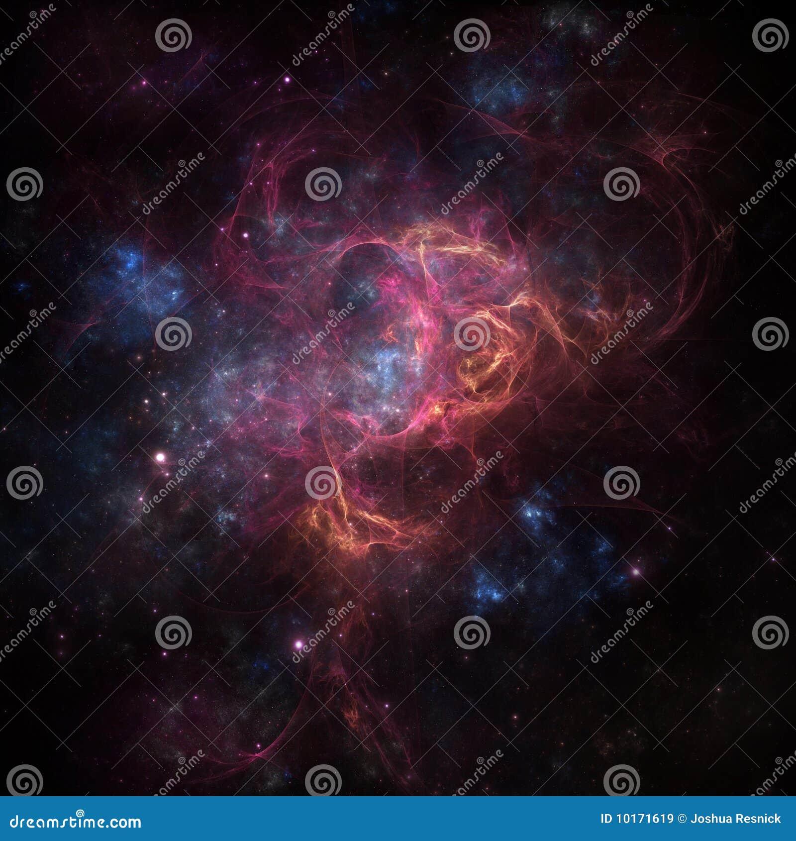 L espace profond de nébuleuse
