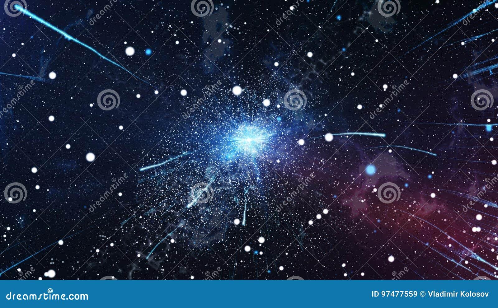 L esplosione iniziale dell universo Big Bang