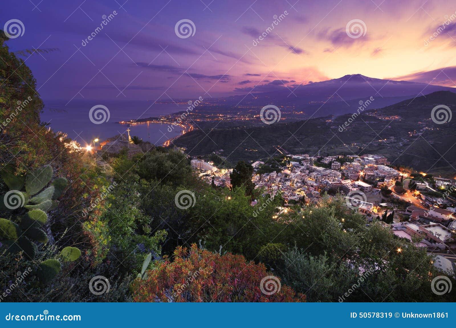 L Etna de Taormina