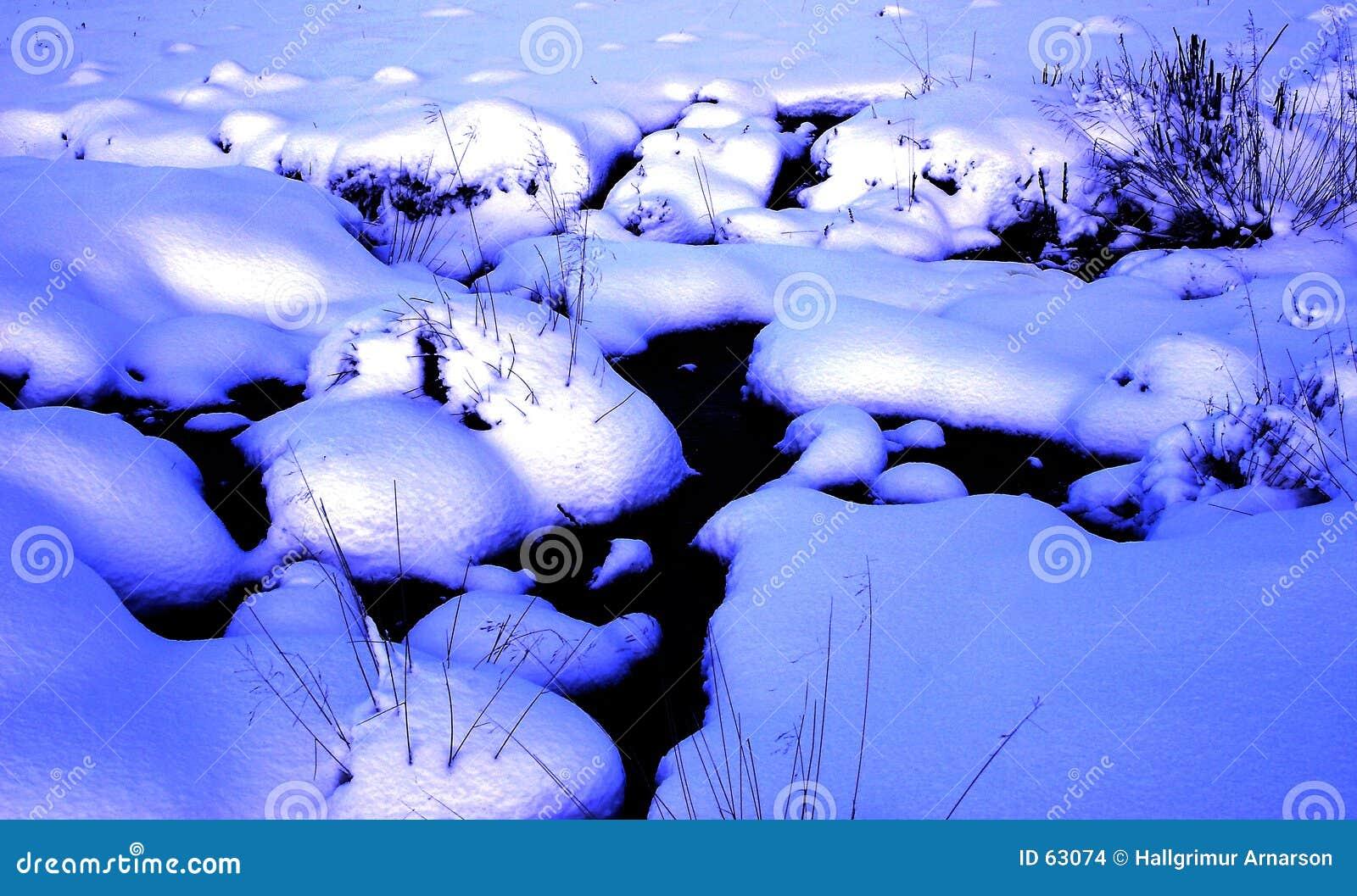 Download L'hiver 2 photo stock. Image du blanc, paille, bleu, glace - 63074