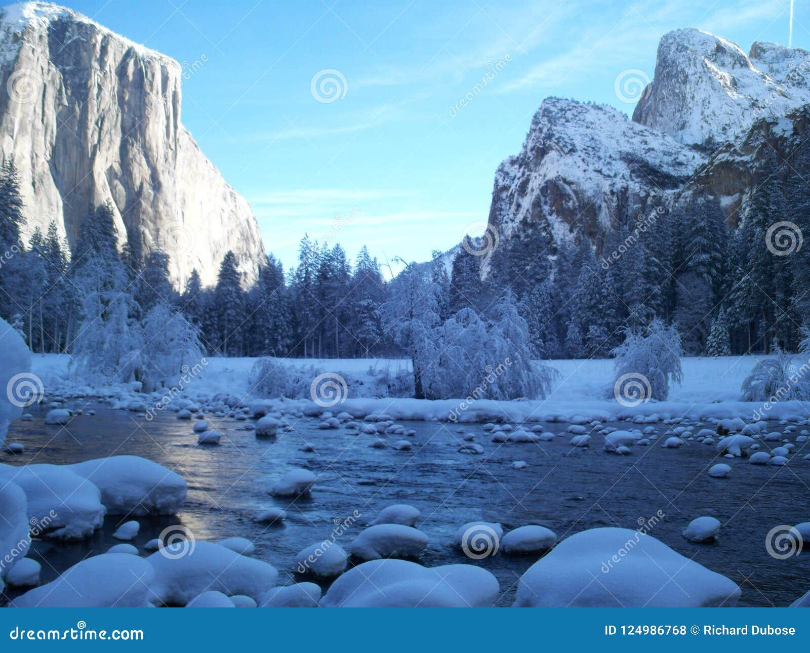 L hiver dans Yosemite