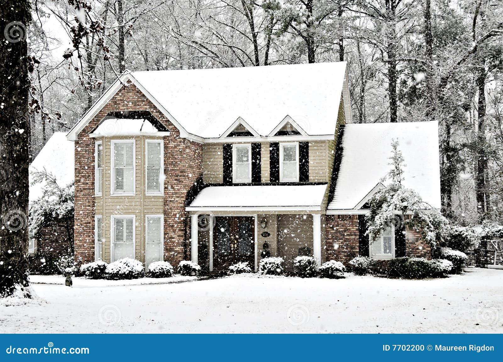 L hiver de neige