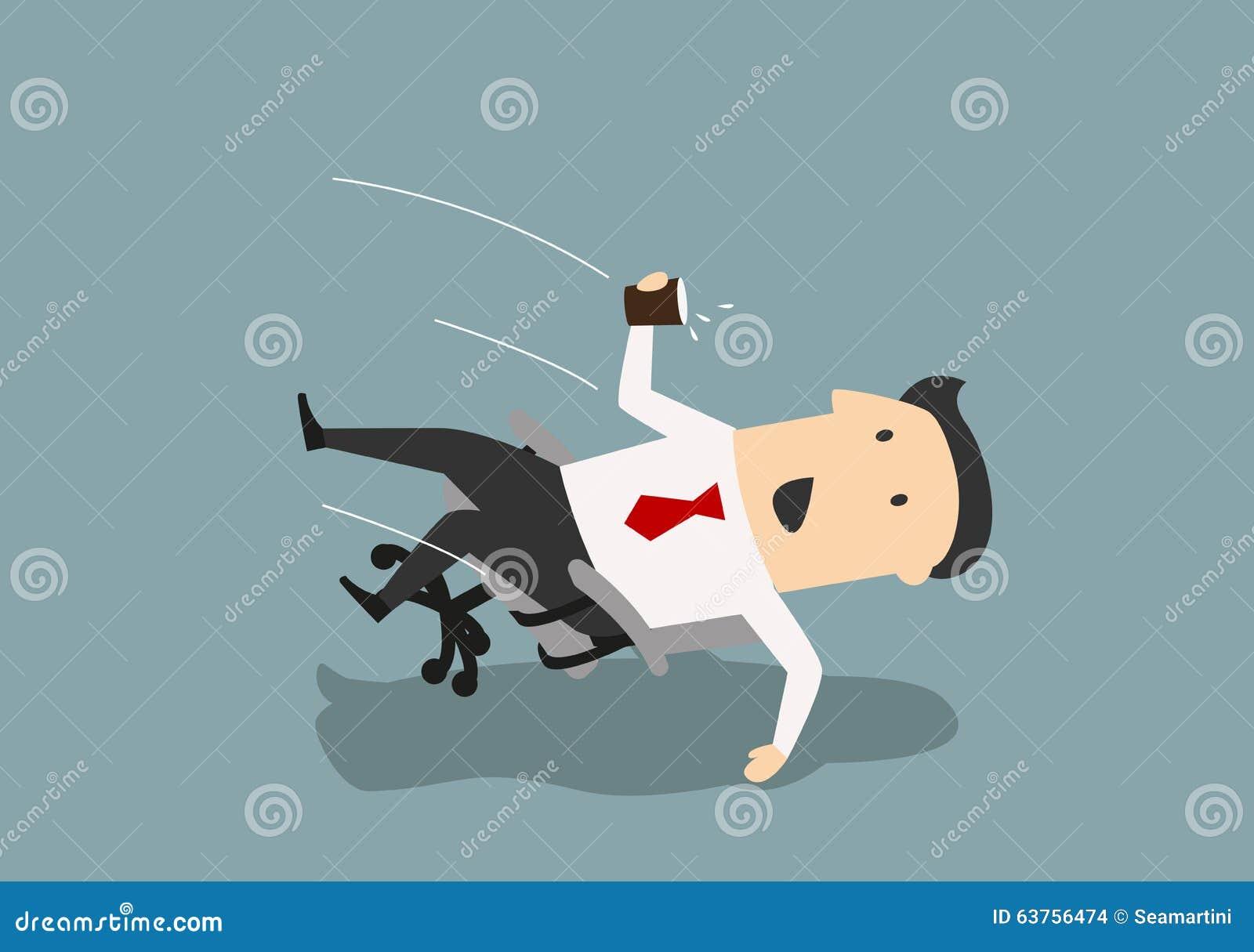 L'homme Dans Chaise Vers Bureau D'affaires Une De Tombe L'arrière R3jc5L4Aq