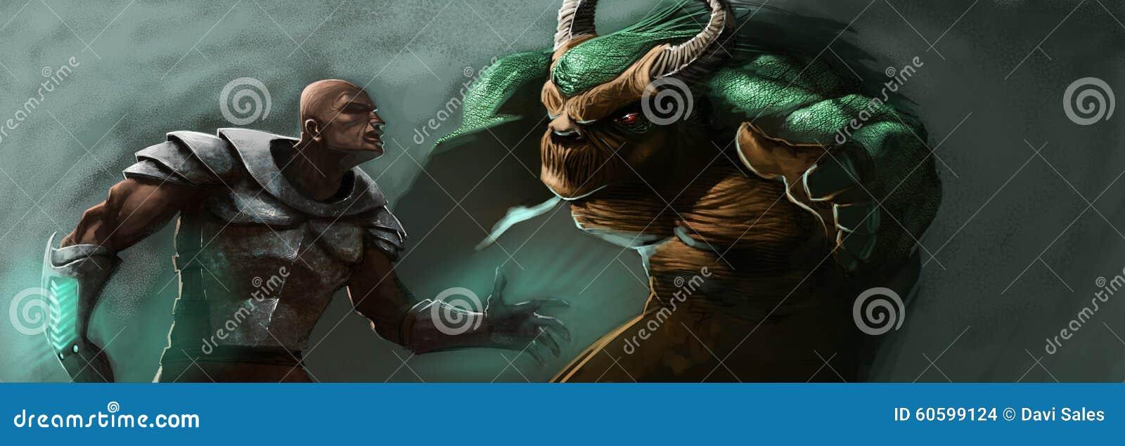 L homme et le monstre