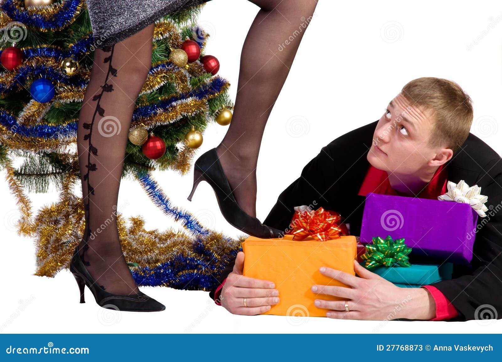 L homme ne laisse pas les cadeaux