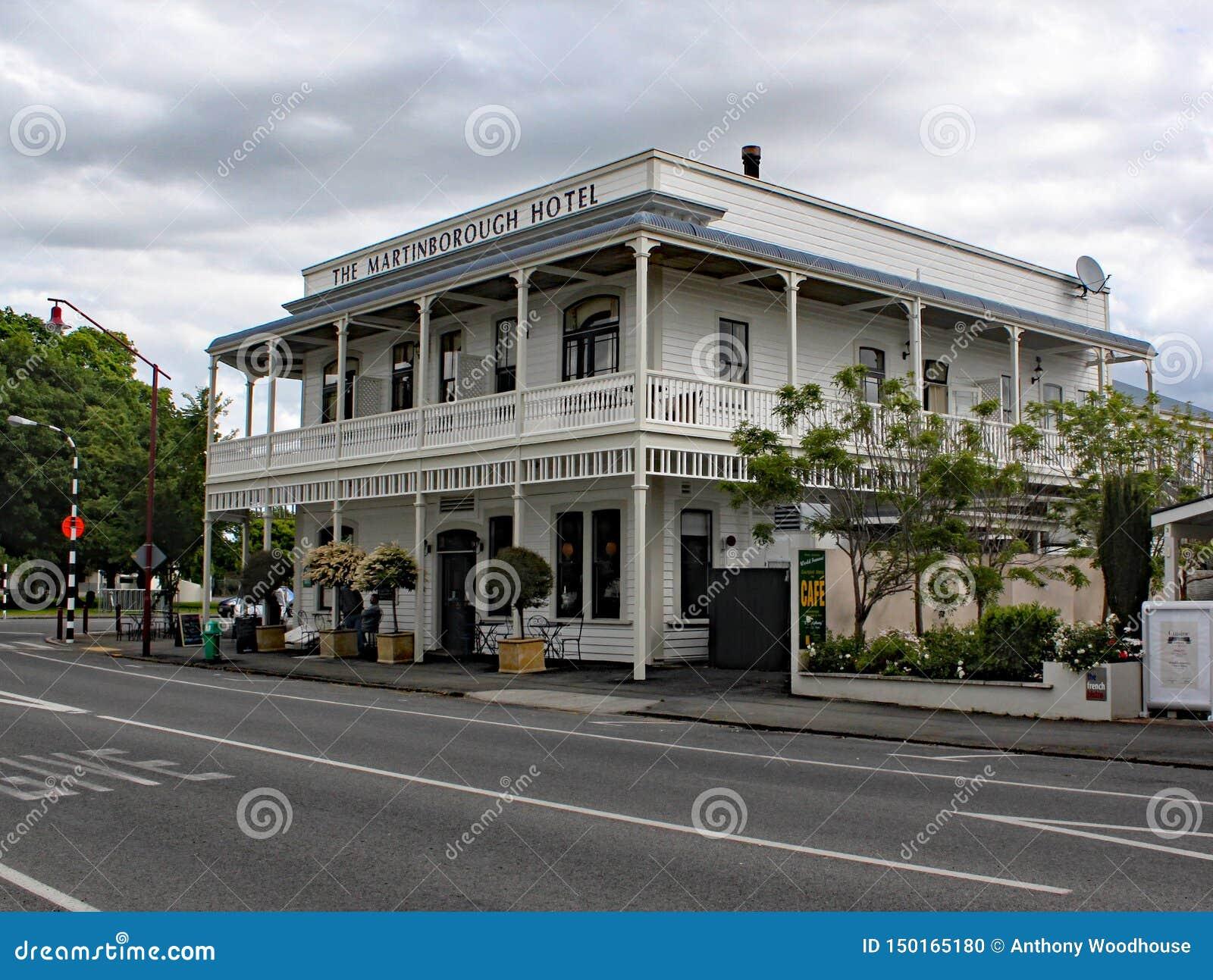 L hotel di Martinbourough Un osteria vittoriana splendida nel heary del paese crescente di vino della Nuova Zelanda