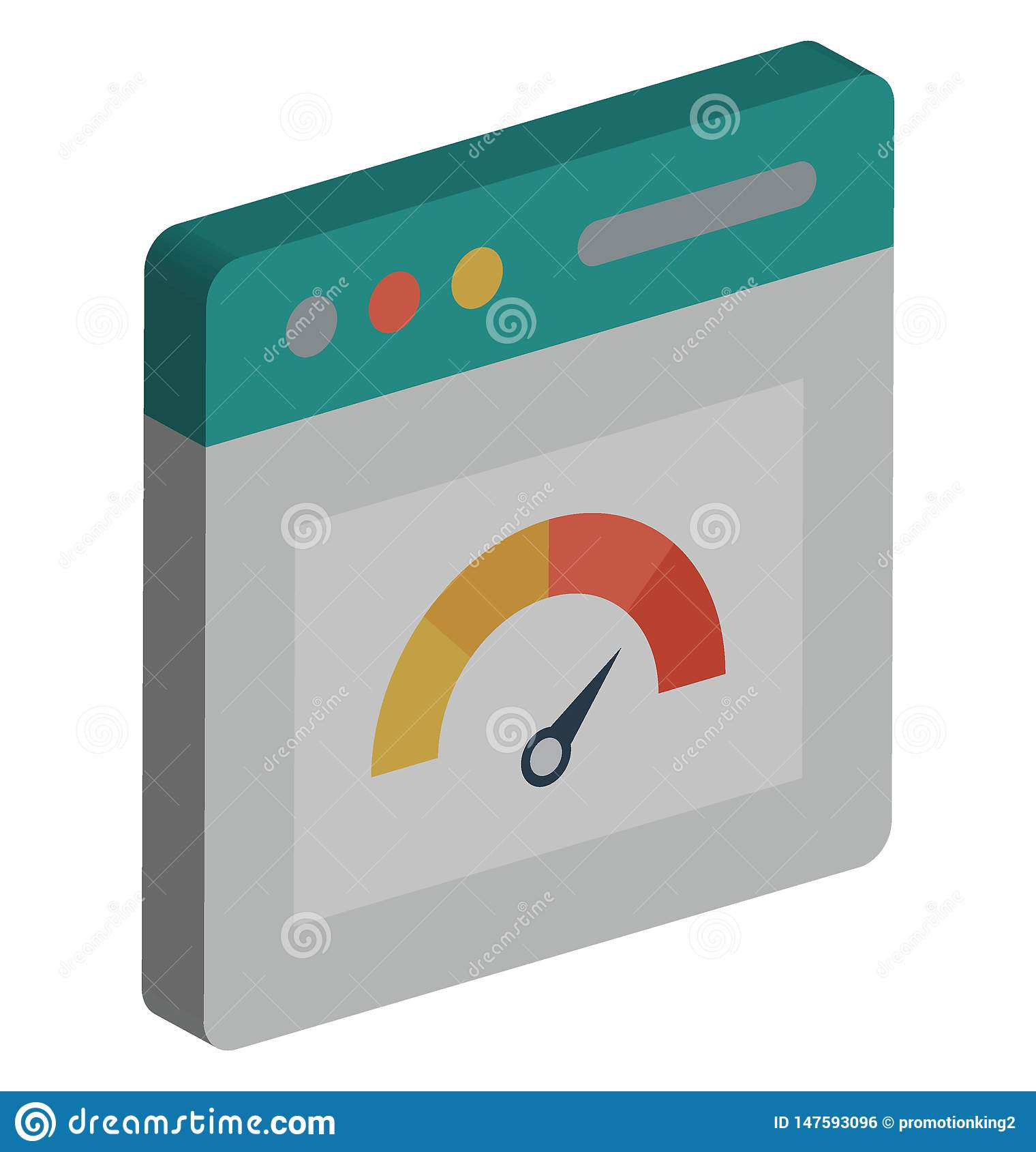 L icône de vecteur de vitesse d Internet de Ba a isolé l icône de vecteur qui peut facilement modifier ou éditer sic le RVB