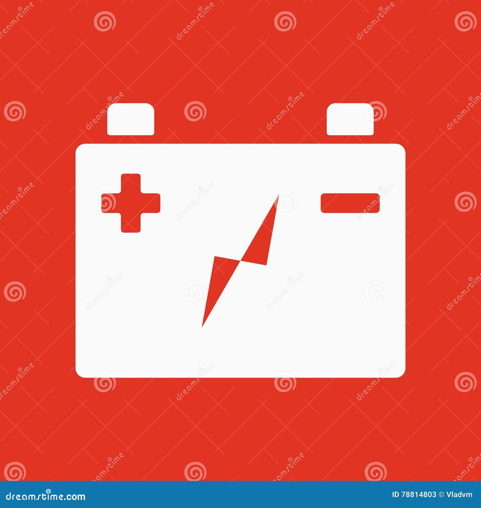 L\'icône De Batterie D\'accumulateur Puissance Et électrique, énergie ...