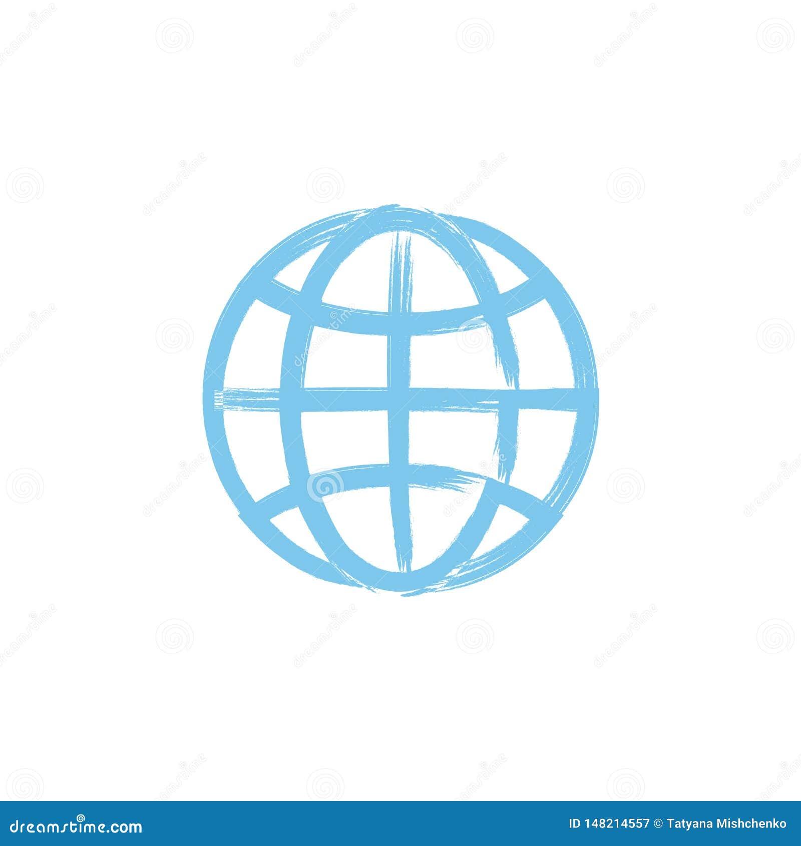 L icona del globo Simbolo del globo