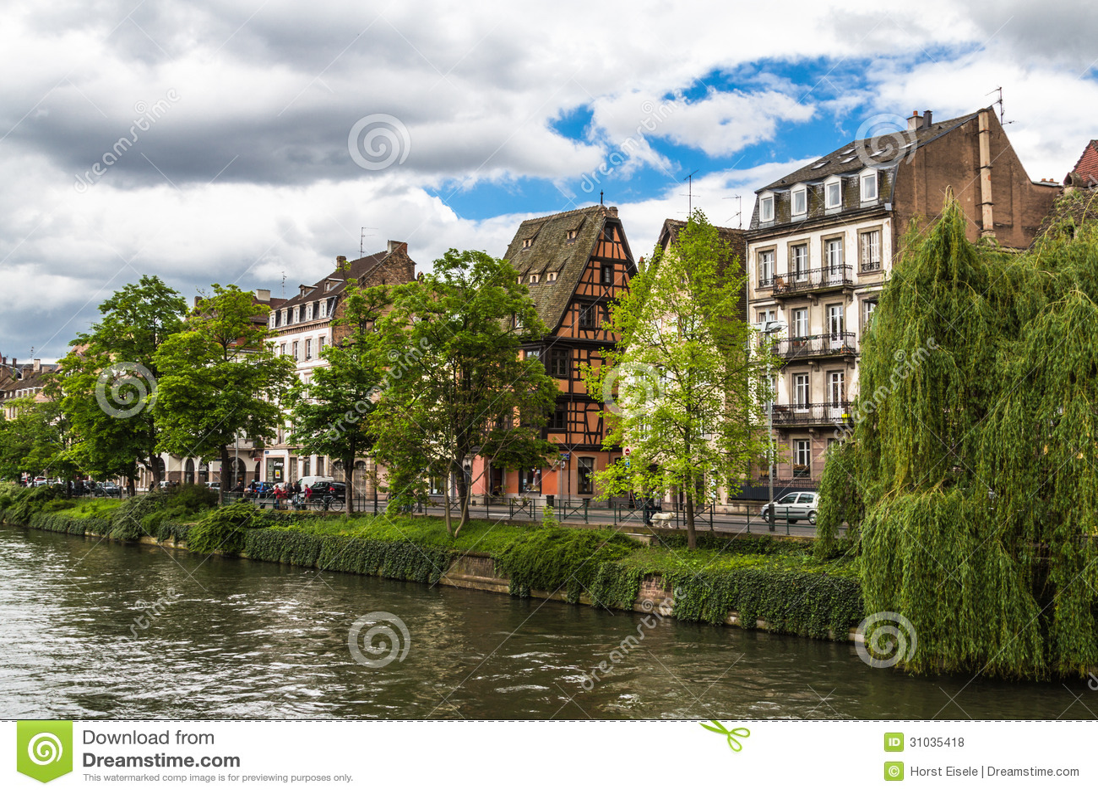 L Ill в страсбурге, Франции