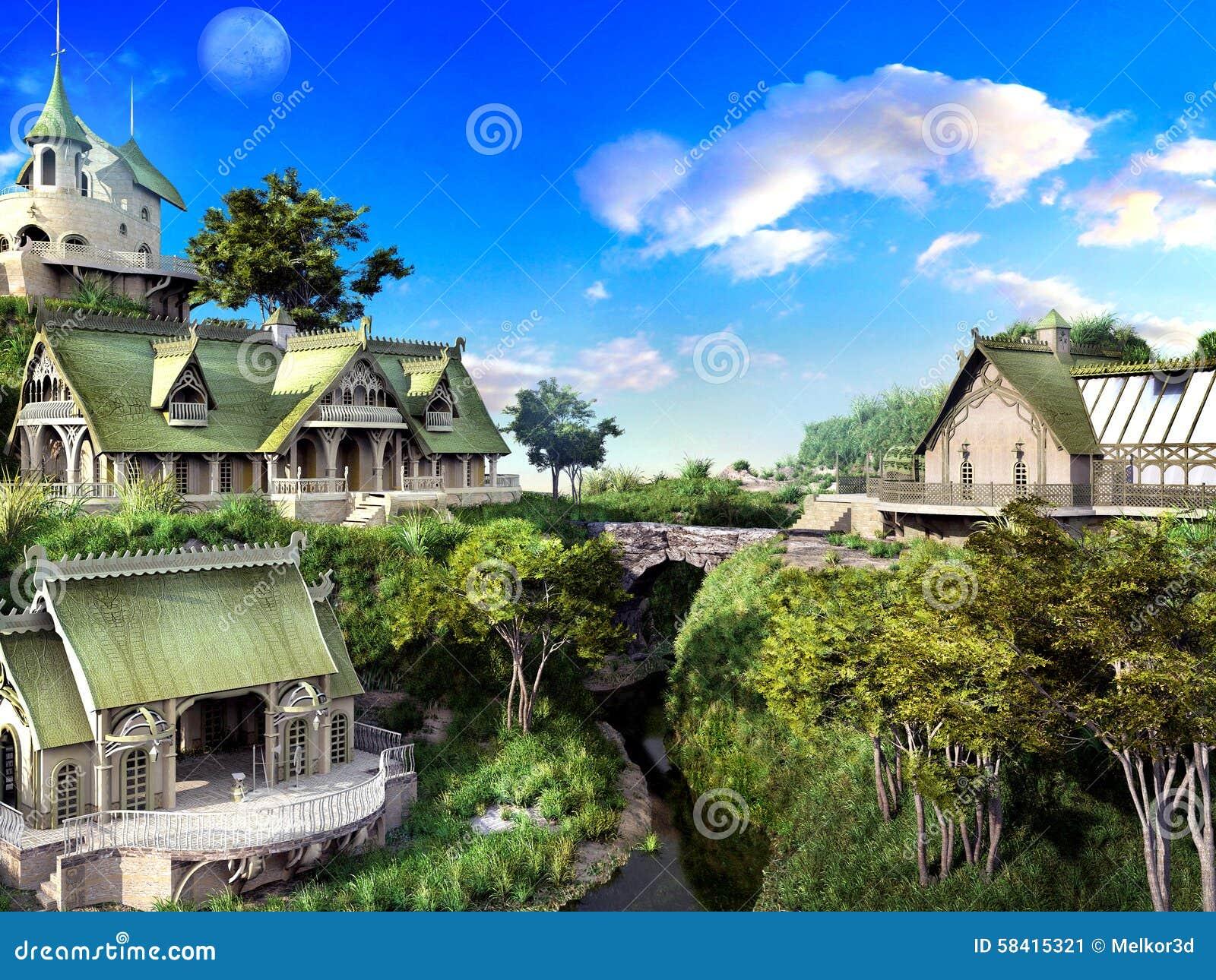 L imagination elven la ville