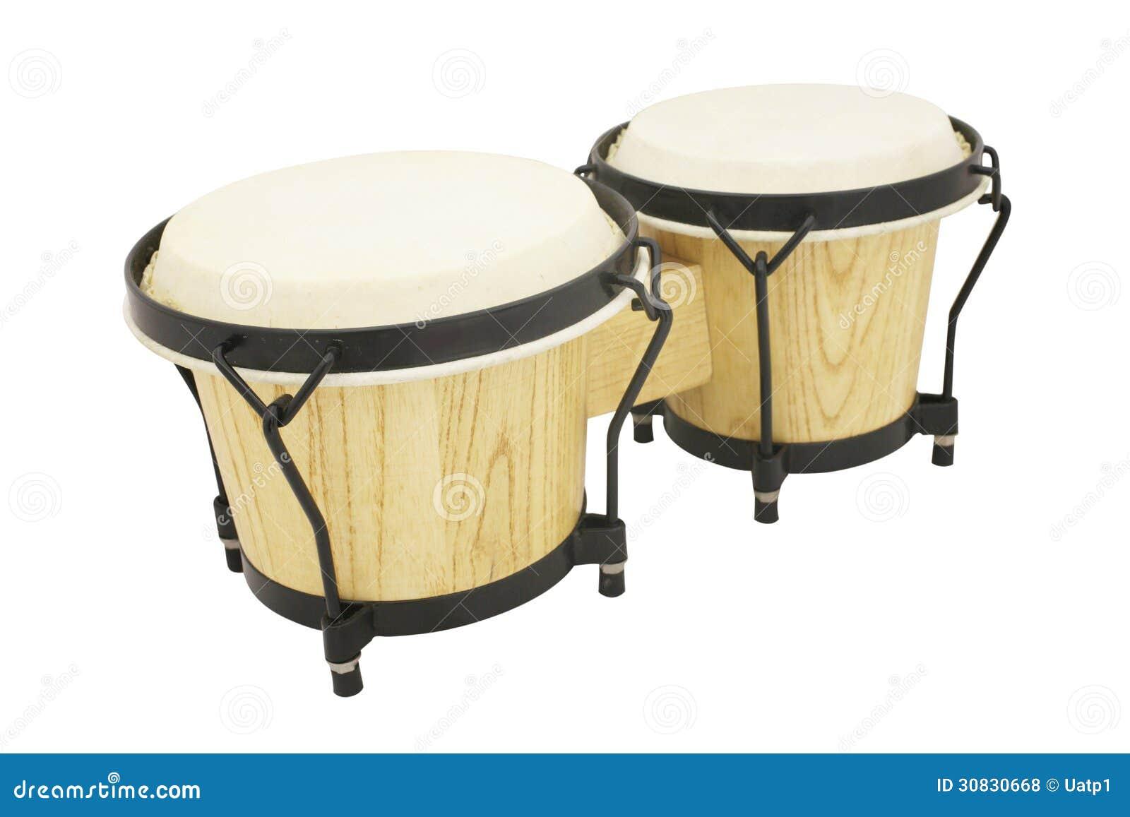L immagine del tamburo africano etnico